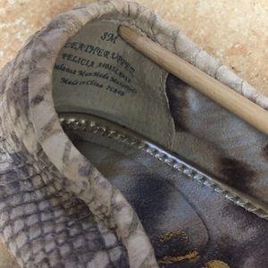 Sam Edelman Shoes - Sam Edelman Felicia snake skin ballerina Flats
